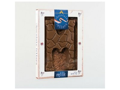 Dutch Letters DL M Milk Chocolate Letter 4.7oz