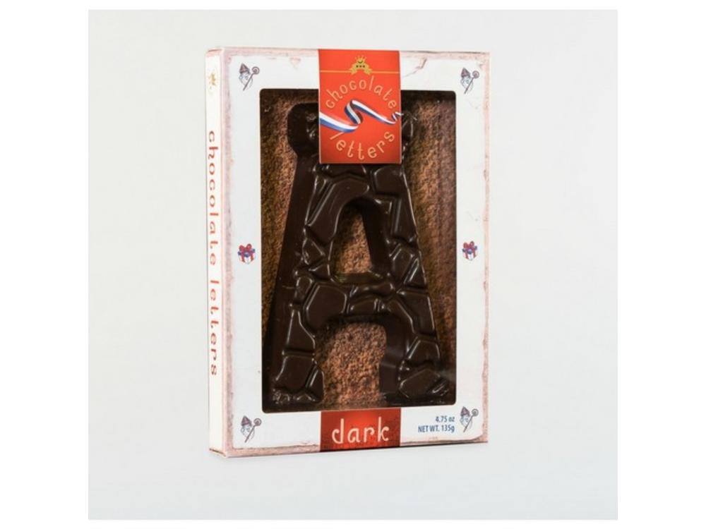 Lagosse Large Dark A Chocolate Letter 4.7oz