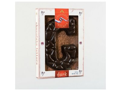 Lagosse Large Dark G Chocolate Letter 4.7oz