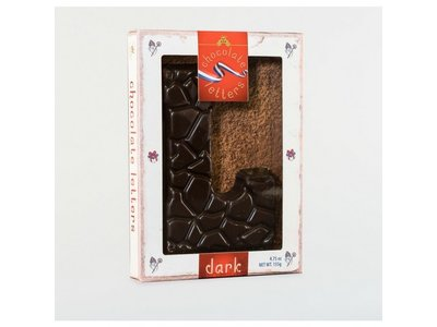 Lagosse Large Dark L Chocolate Letter 4.7oz