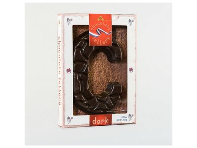 Lagosse Large Dark C Chocolate Letter 4.7oz