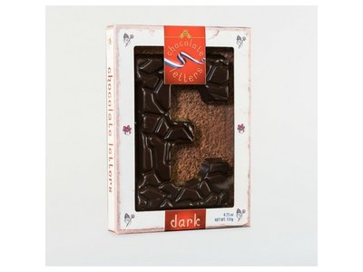 Lagosse Large Dark E Chocolate Letter 4.7oz
