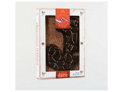 Lagosse Large Dark J Chocolate Letter 4.7oz
