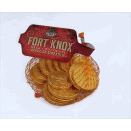 Fort Knox Gold Coin Mesh Bag 1.5 Oz