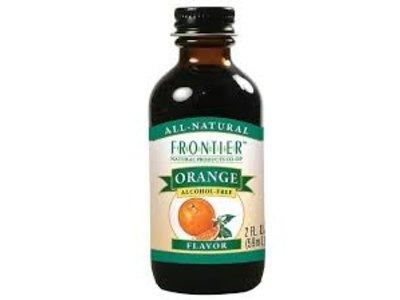 Frontier Frontier Orange Flavor 2 Oz
