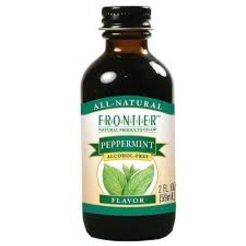 Frontier Frontier Peppermint Flavor 2 Oz