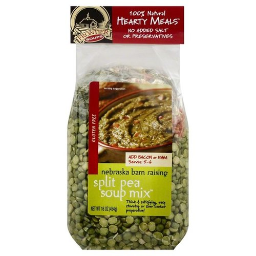 Frontier Soups Nebraska Barn Raising Split Pea Soup mix