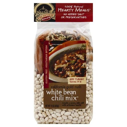 Frontier Soups California Gold Rush White Bean Chili Mix