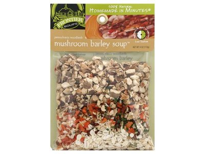 Frontier Soups Frontier Pennsylvania Woodlands Mushroom Barley Soup Mix