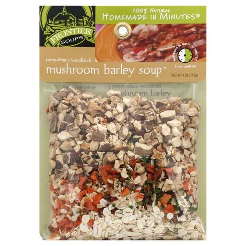 Frontier Soups Pennsylvania Woodlands Mushroom Barley Soup Mix