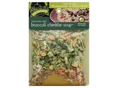 Frontier Soups Virginia Blue Ridge Broccoli Chedder Soup Mix