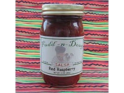 Fudd-n-Doug Red Raspberry Salsa 17 Oz