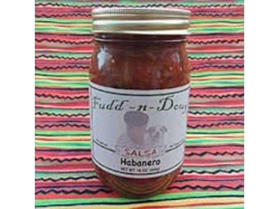 Fudd-n-Doug Habanero Salsa 17 Oz