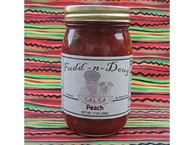 Fudd-n-Doug Peach Salsa 17 Oz