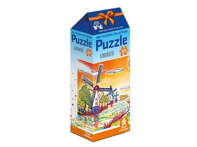 Games Puzzle Kinderdijk Holland 500 pc