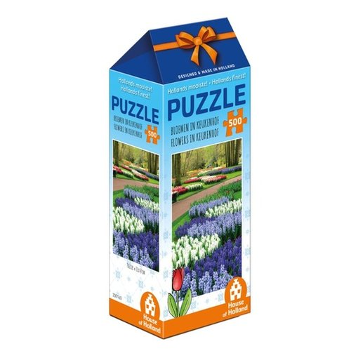 Games Puzzle Flowers in Keukenhof Holland 500 pc