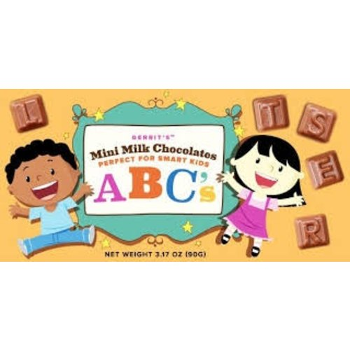 Gerrits Gerrits Milk Chocolate Mini ABC Letters 3.17 Oz