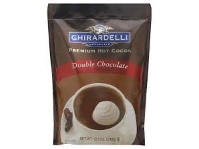 Ghirardelli Ghirardelli Double Chocolate Cocoa 10.5 oz Pouch