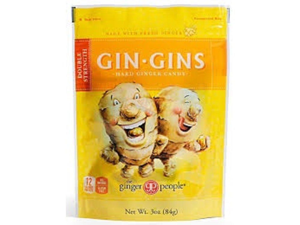 Ginger People Ginger People Double Strength Hard Candy Bag 3 oz