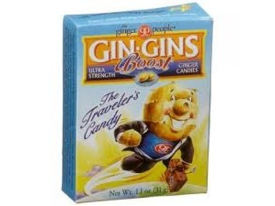 Ginger People Ginger People Super Strength  Gin Gins 1.1 oz travel box