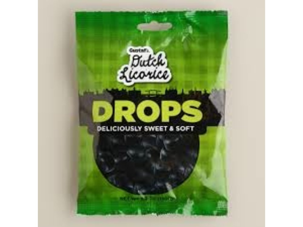 Gustafs Gustafs Soft Licorice Drops 5.2 Oz Bag