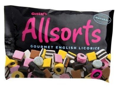Gustafs Gustafs Licorice Allsorts 14 oz Bag