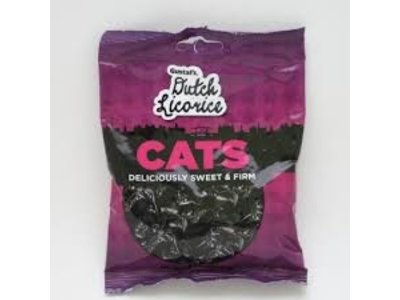 Gustafs Gustafs Cats Licorice 5.2 Oz Bag