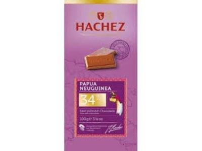Hachez Hachez Pawpau New Gunea 34% Cocoa Bar