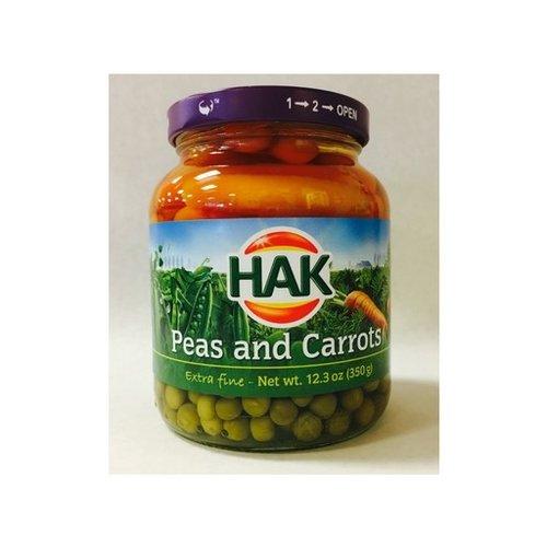 Hak Hak Peas & Carrots 12.3 Oz