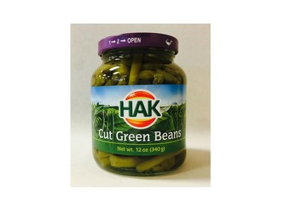 Hak Hak Cut Green Beans 12 Oz