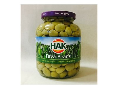 Hak Hak Fava Bean Tuinbonen 24 Oz