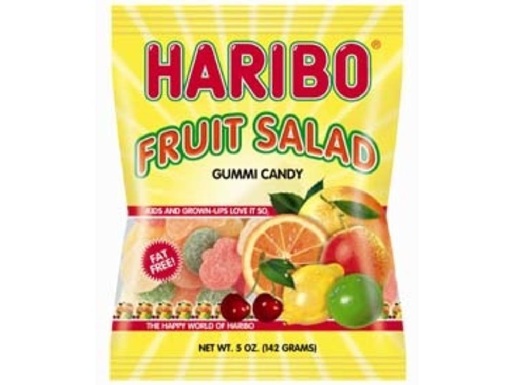 Haribo Haribo Fruit Salad 5oz Bags 12/cs