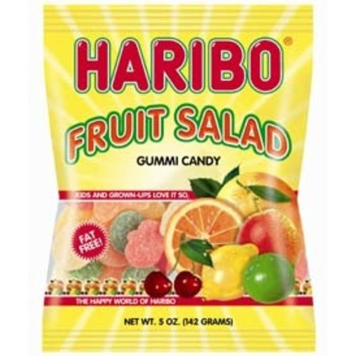 Haribo Haribo Fruit Salad 5oz Bags 12/cs