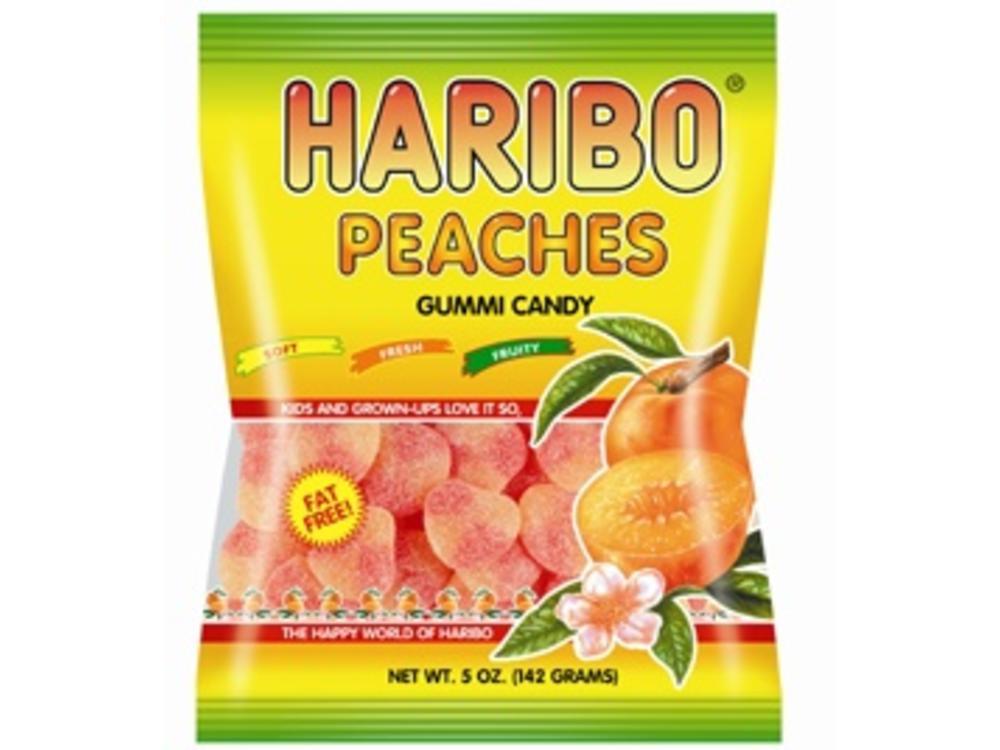 Haribo Haribo Peaches 5 Oz Bag 12/cs