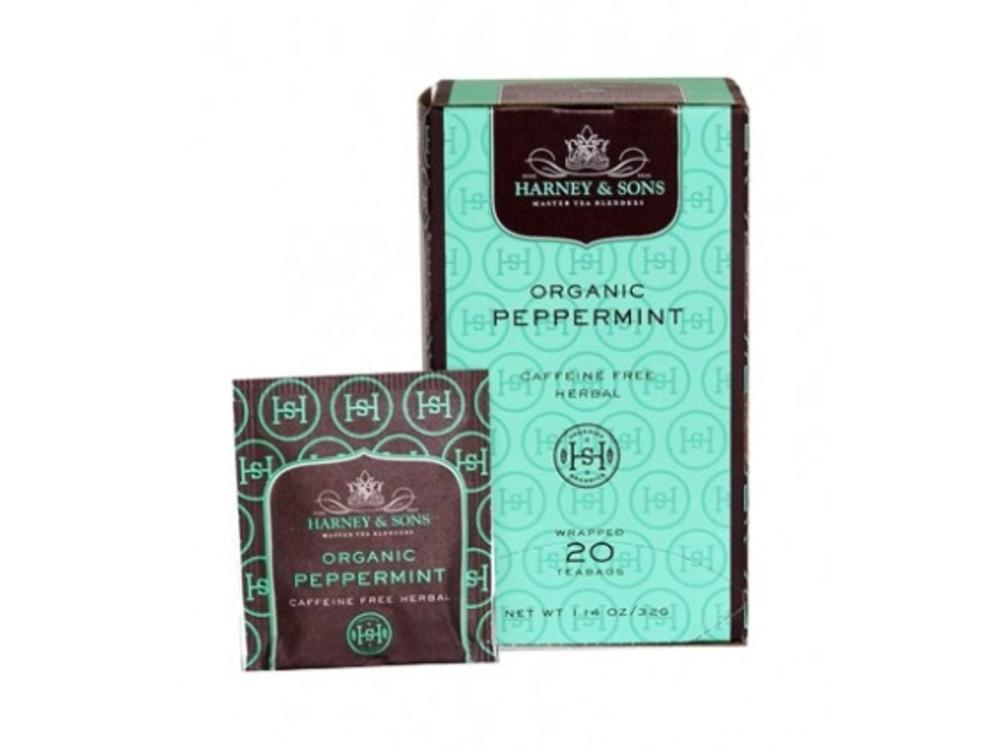 Harney & Son Harney & Sons Organic Peppermint tea 20 ct box