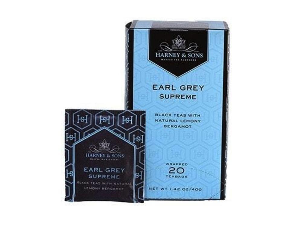 Harney & Son Harney & Sons Premium Earl Grey Supreme Tea 20 Ct Box