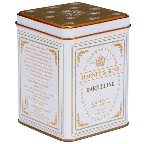 Harney & Son Harney & Sons Darjeeling Tea Sachets Tin