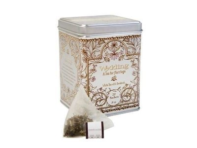 Harney & Son Harney & Sons Wedding 20 Ct Tea Tin White Tea with Rosebuds