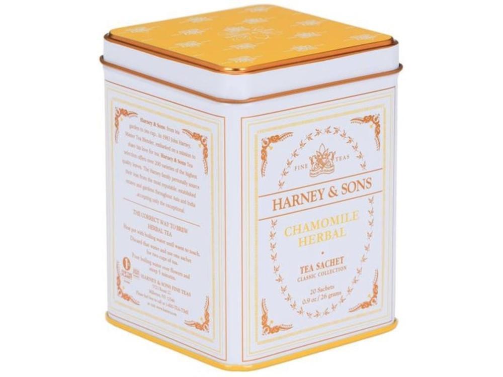 Harney & Son Harney & Sons Chamomile Classic White Tea Tin