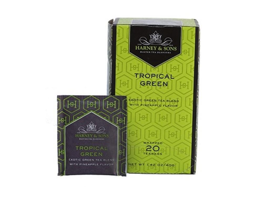 Harney & Son Harney & Sons Tropical Green Tea 20 Ct Box