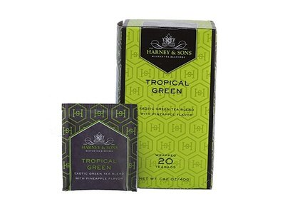 Harney & Son Harney & Sons Tropical Green Tea 20 Ct Box