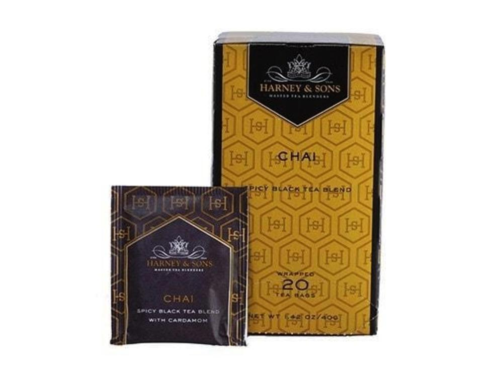 Harney & Son Harney & Sons Chai Spicy Black Blend Tea 20 Ct Box