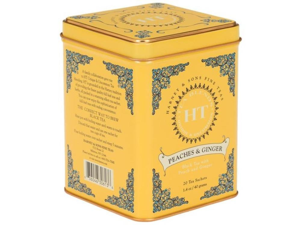Harney & Son Harney & Sons Peaches & Ginger Tin