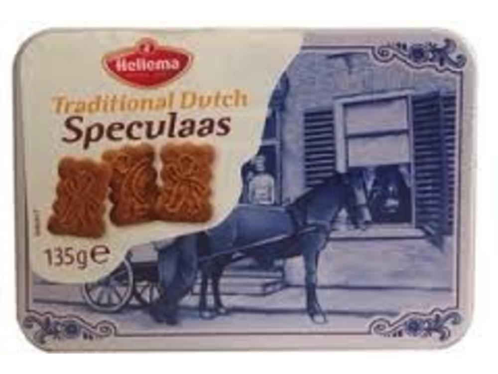 Hellema Hellema Delft Mini Tin Speculaas 4.7 Oz