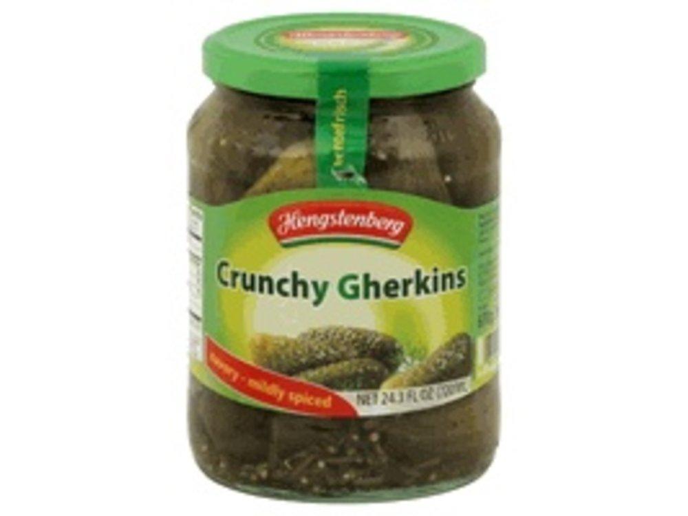 Hengstenberg Hengstenberg Knax Crunchy Gherkins 24 oz Jar 12/cs