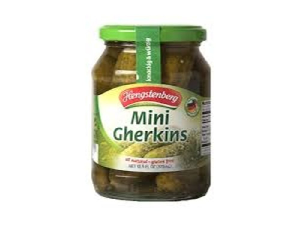 Hengstenberg Hengstenberg Mini Gherkins 12 oz