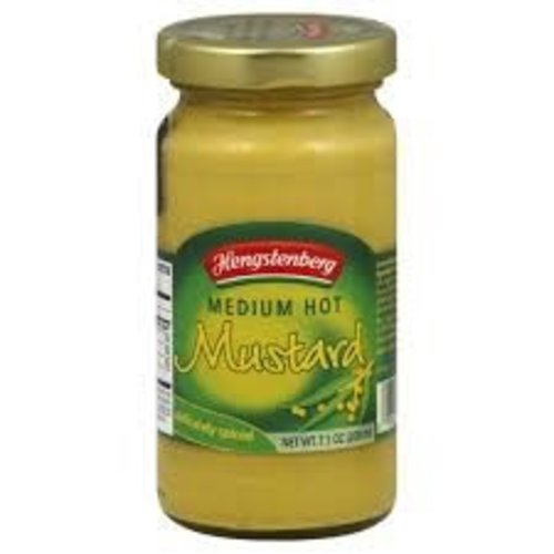 Hengstenberg Hengstenberg Med Hot Mustard 11 oz
