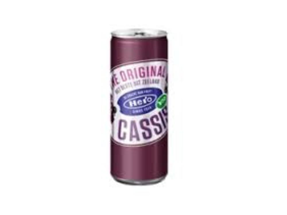 Hero Hero Black Currant Juice Can 8.4oz 250 ML