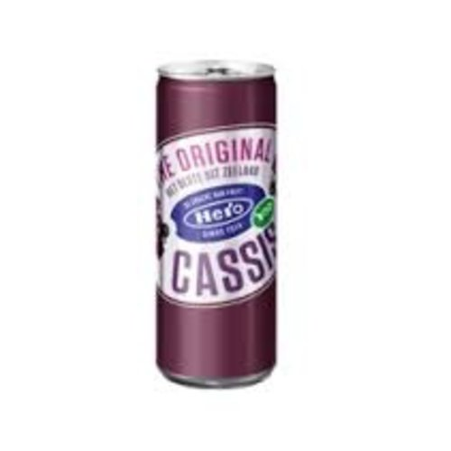Hero Hero Black Currant Juice Can 8.4oz 250 ML