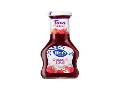 Hero Hero Tova Strawberry Dessert Sauce 4.2 Oz dated May 2019